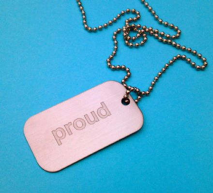 Proud Dogtag Necklace